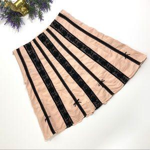 Anthropologie Skirts - Anthropologie Odille RARE Croquet Crochet Skirt